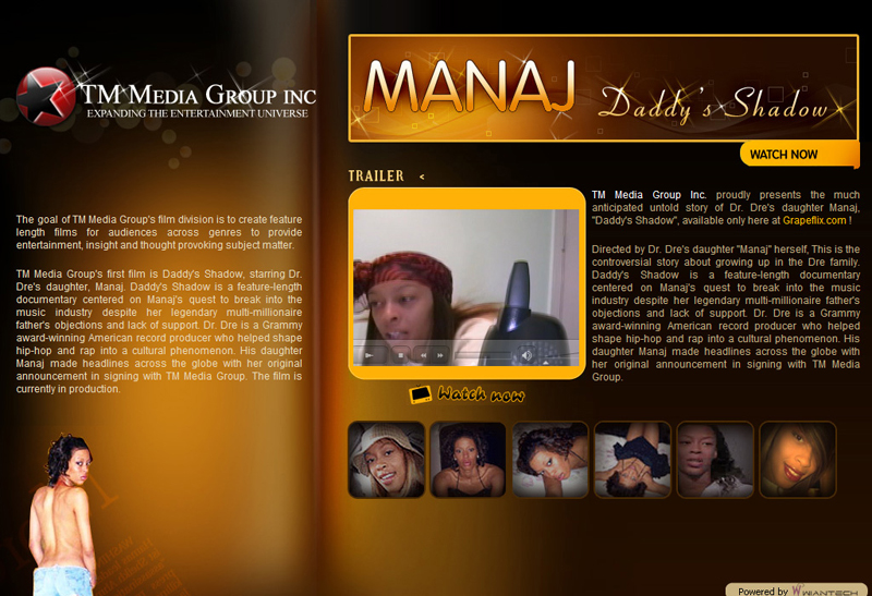 Welcome to TM MEDIA GROUP INC - Home of MANAJ and DADDY SHADOW