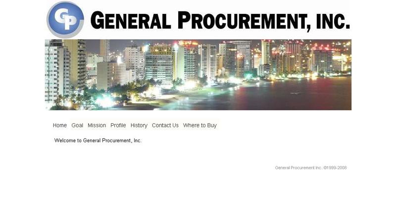 General Procurement