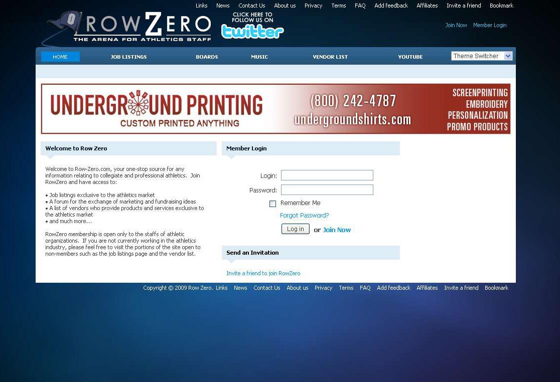 Row Zero