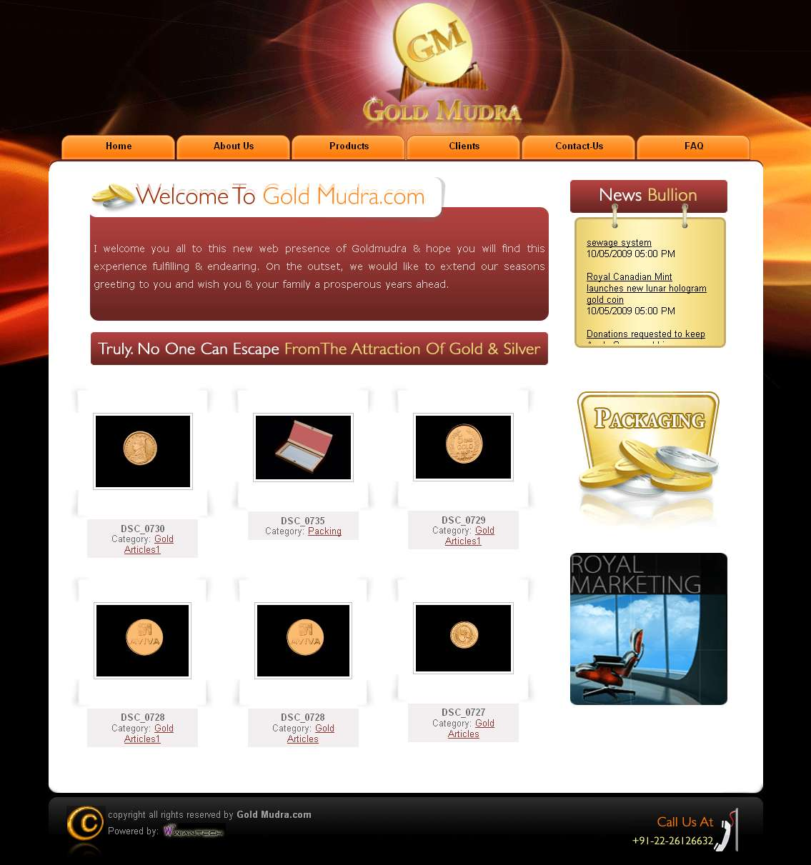 Gold Mudra