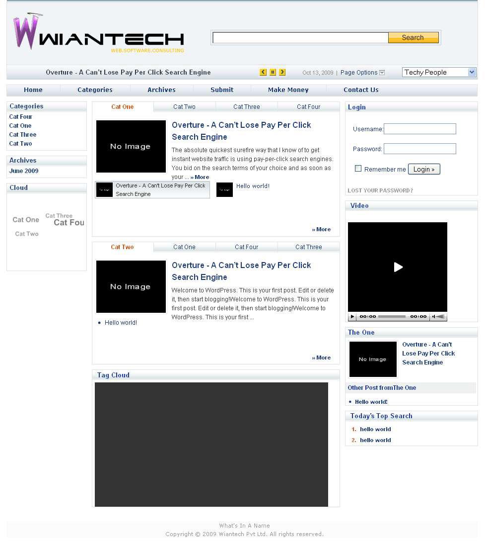 Wiantech Blog