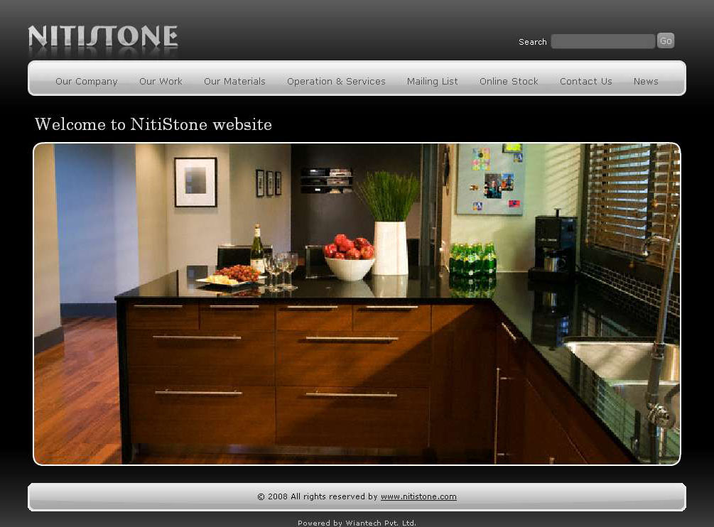 Welcome to Nitistone Website