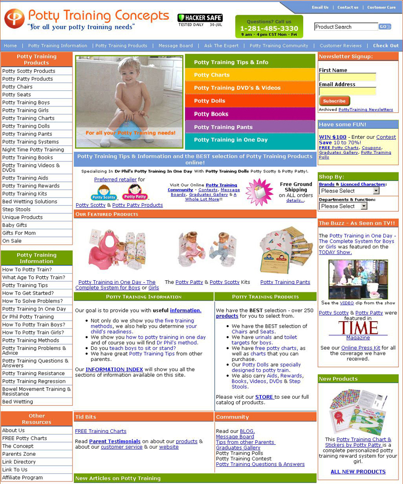 Potty Training  PottyTrainingConcepts.com